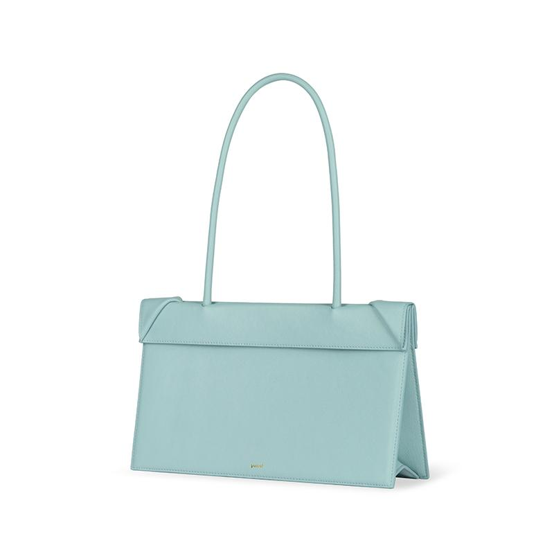 YEE SI Click Medium Shoulder Bag - Blue 2