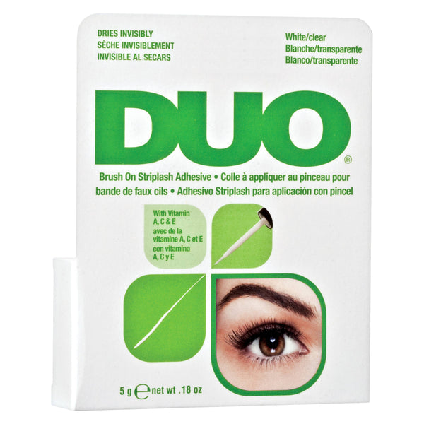 Duo Brush On Striplash Adhesive (white/clear) Green