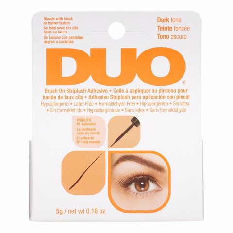 Duo Brush on Striplash Adhesive (Dark) Orange