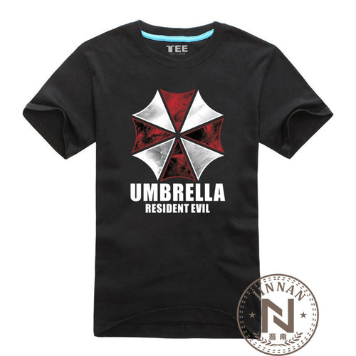 Resident Evil T Shirt Umbrella Corporation Cotton T-Shirt