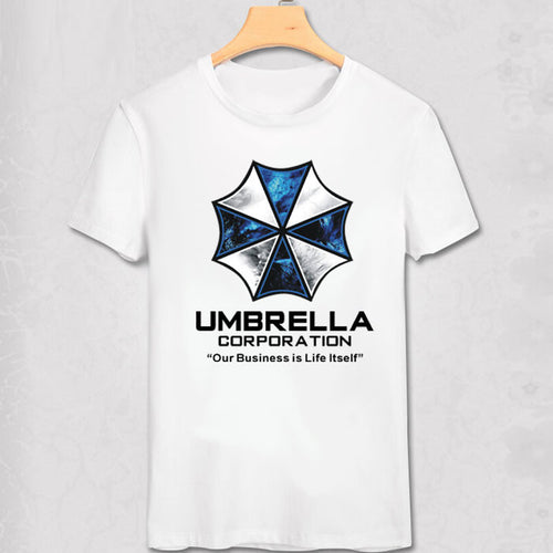 Umbrella Corporation Resident Evil Printed T Shirt