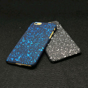 3D Frosted Matte Starry Sky Case For Iphone 7 6s 6 Plus SE 5 5s Funda Fashion Stars Ultra Thin PC Hard Back Cover Phone Cases (multiple colors)