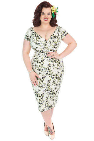 Lady Voluptuous Ursula Olive print NZ