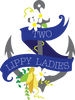 Two Lippy Ladies anchor logo