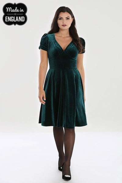Green Joanne dress