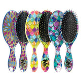 Detangle brush Moroccan mosaic print