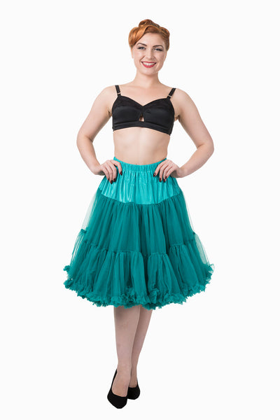 Banned turquoise petticoat