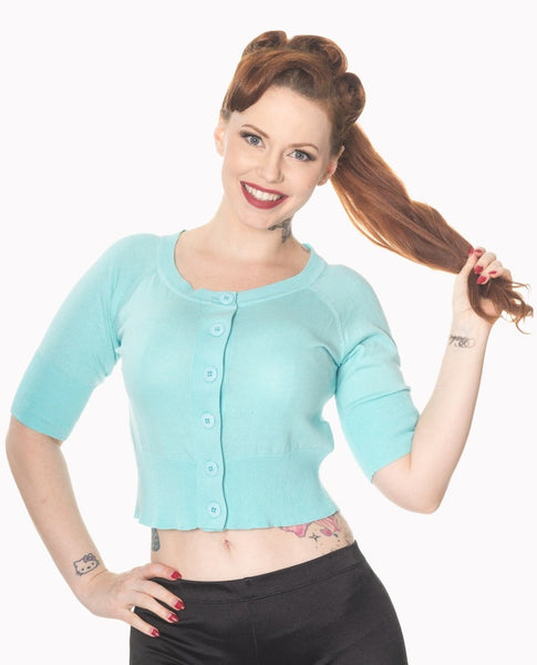 turquoise-raven-short-sleeved-cardigan