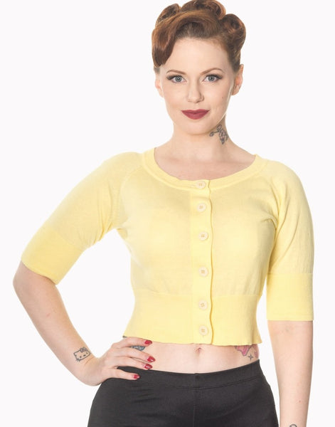 yellow-raven-short-sleeved-cardigan
