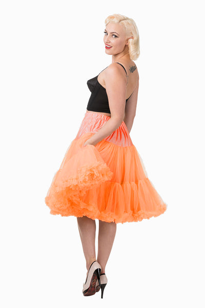 Banned orange rock n roll petticoat