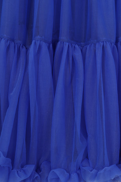 "23"" Starlite petticoat in royal blue"