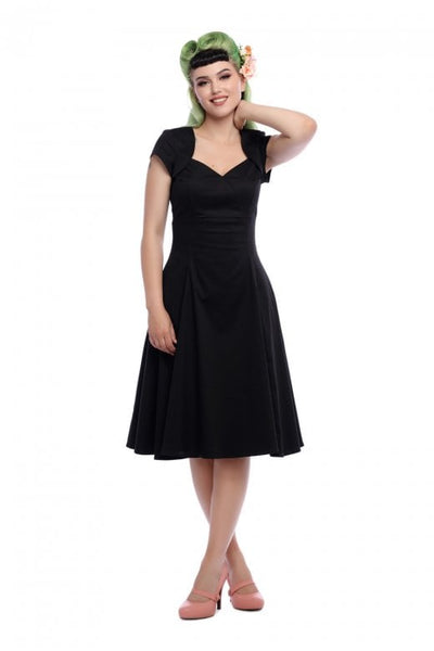 Collectif Regina doll dress black NZ