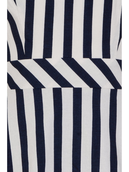 Collectif-clothing-Lucille-striped-dress-detail