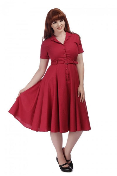 Collectif Caterina raspberry modelled NZ