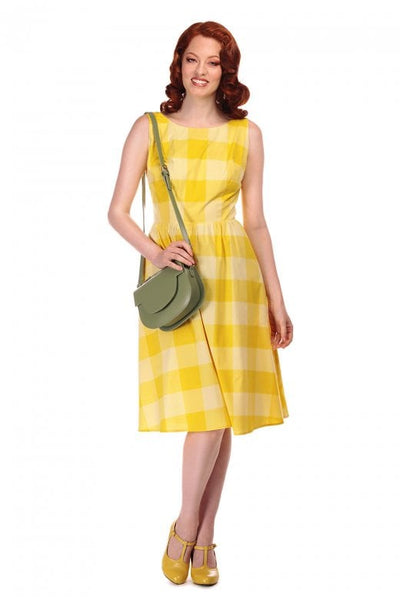 Collectif Ginevra sun yellow dress NZ