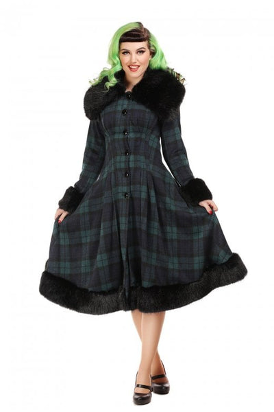 Blackwatch tartan Pearl coat