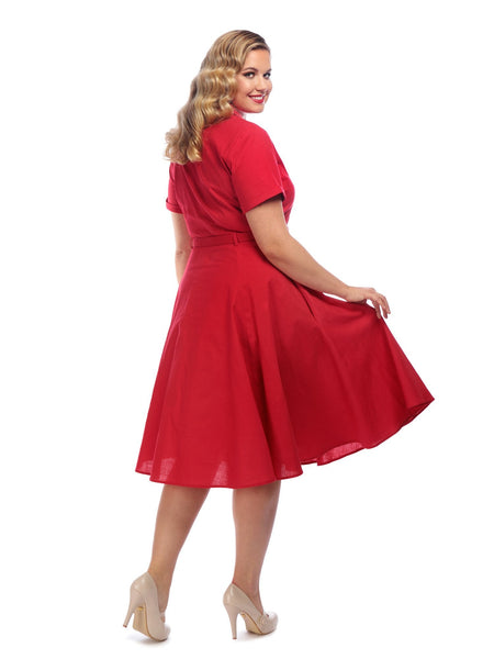 red-Caterina-shirt-dress-collectif-back