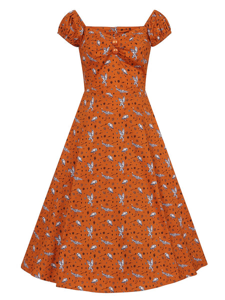 orange-hoot-hoot-owl-dolores-dress-front