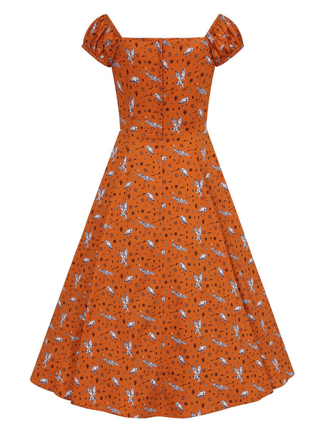 orange-hoot-hoot-owl-dolores-dress-back