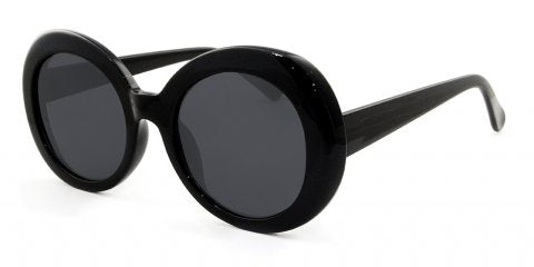 large black vintage sunglasses