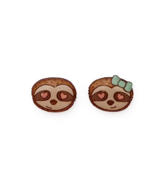 loved-up-sloth-couple-earrings-nz