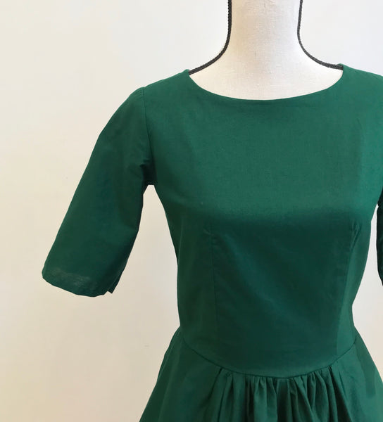 Ruby dress in green