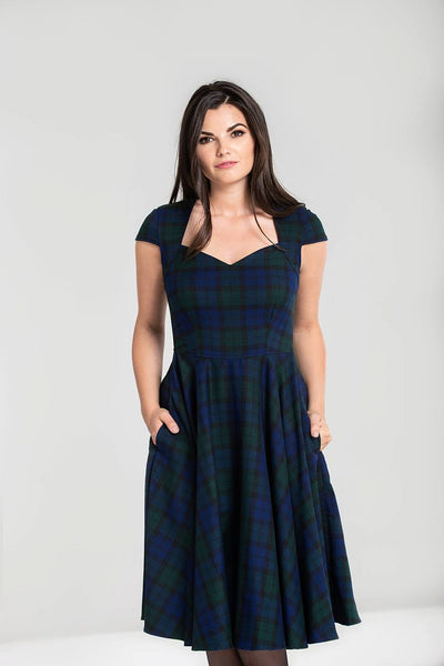 dublin-tartan-hell-bunny-dress