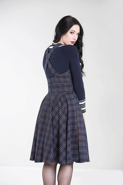hell-bunny-tartan-navy-peebles-pinafore-back