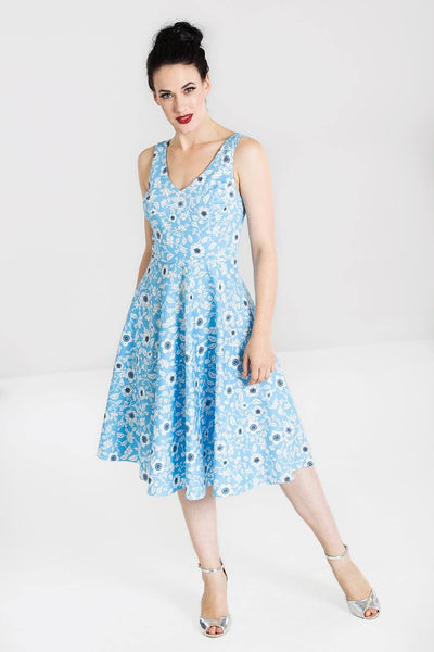 Hell Bunny Daphne 50s vintage dress