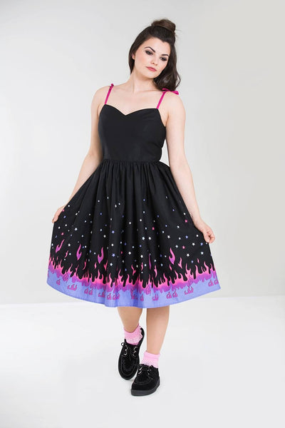Hell Bunny Pinball dress NZ