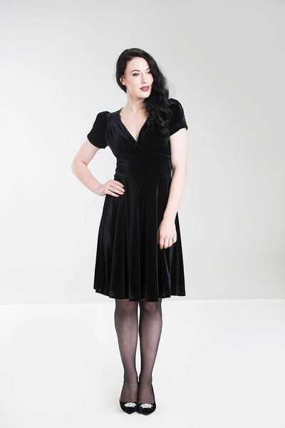 Hell Bunny Joanne dress in black