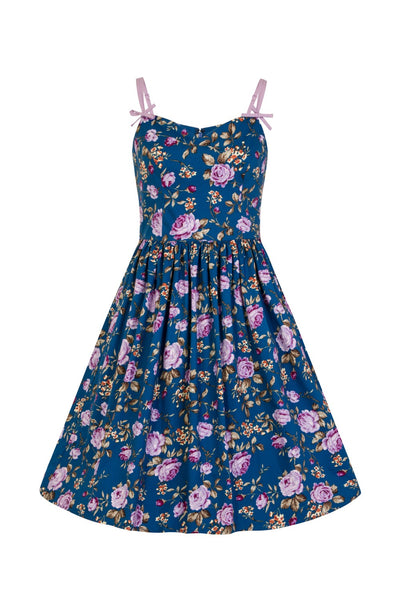 Hell Bunny Violetta 50s dress back