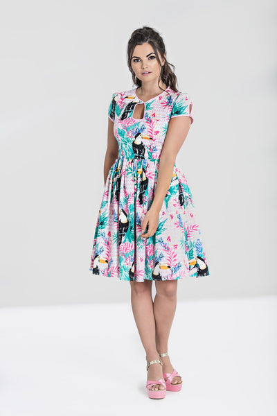Hell Bunny Toucan dress nz