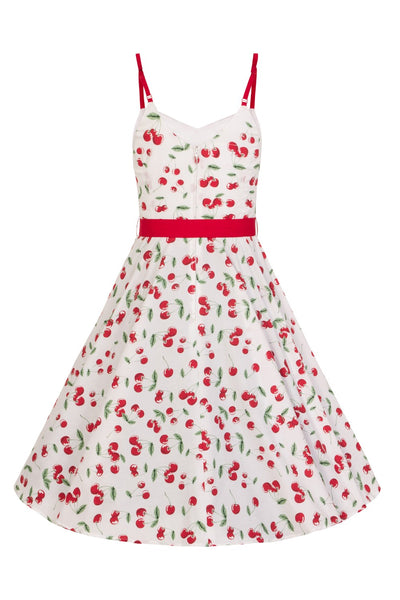 Hell Bunny Sweetie 50s cherry dress back
