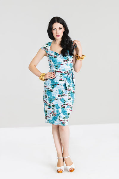Hell Bunny Nissi pencil dress NZ