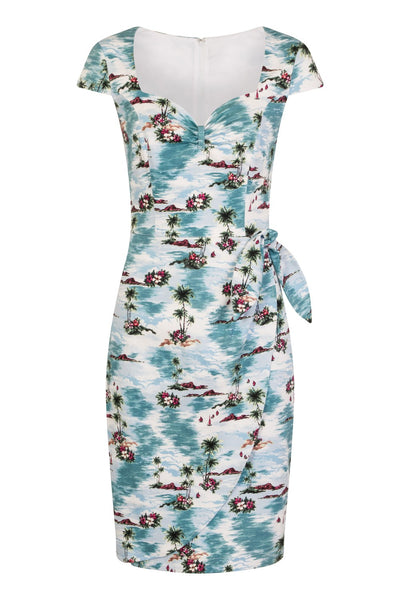 Hell Bunny Nissi pencil dress front