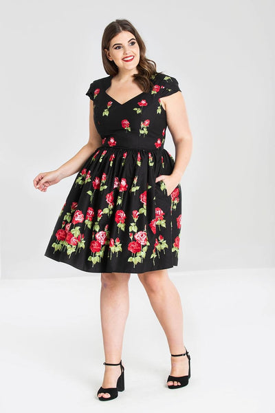 Hell Bunny Antonia dress plus size nz