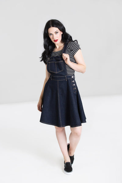Hell-bunny-dakota-denim-pinafore-nz