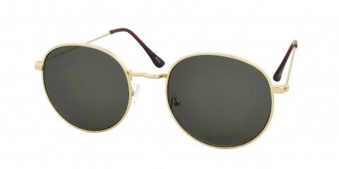 gold toned classic sunglasses