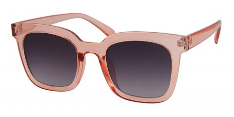 electra square pink salmon retro sunglasses NZ