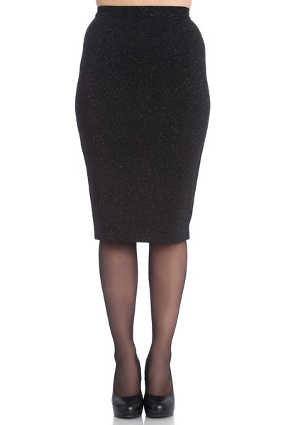 Nebula pencil skirt Hell Bunny NZ