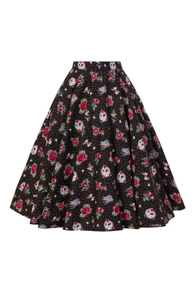 Hell Bunny Stevie skirt front