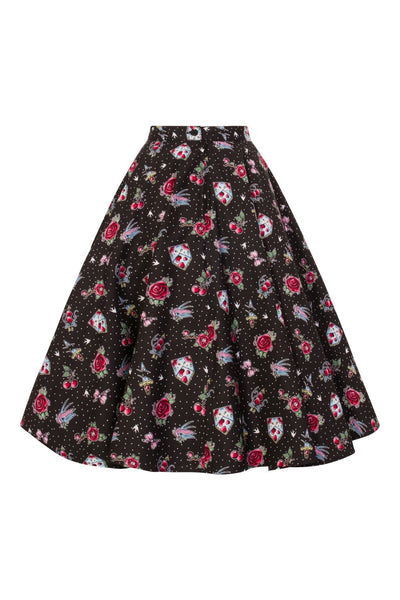 Hell Bunny Stevie skirt back