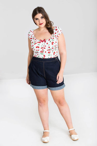 plus-size-hell-bunny-yaz-shorts-nz