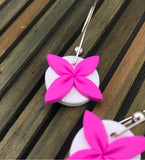 Pink-white-tipani-earrings