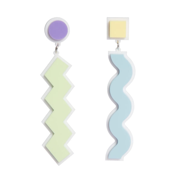 80s-pastel-squiggle-earrings