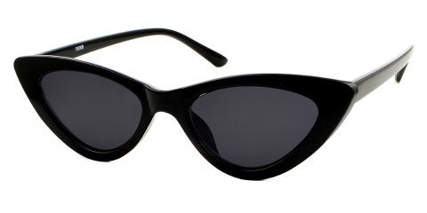 Vamp black cat eye sunglasses