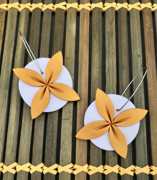 Gold-white-tipani-statement-earrings