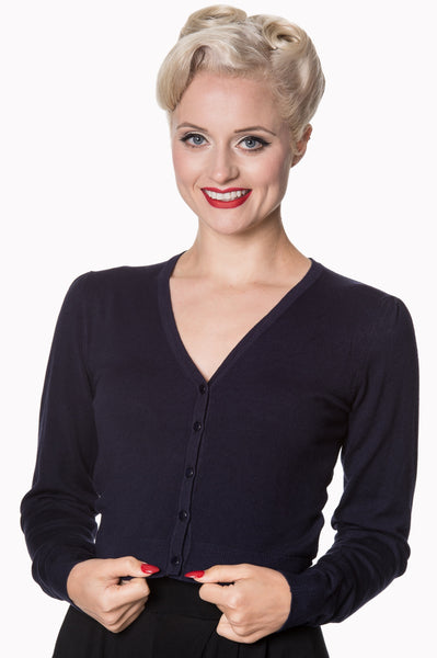Midnight blue Banned cardigan NZ