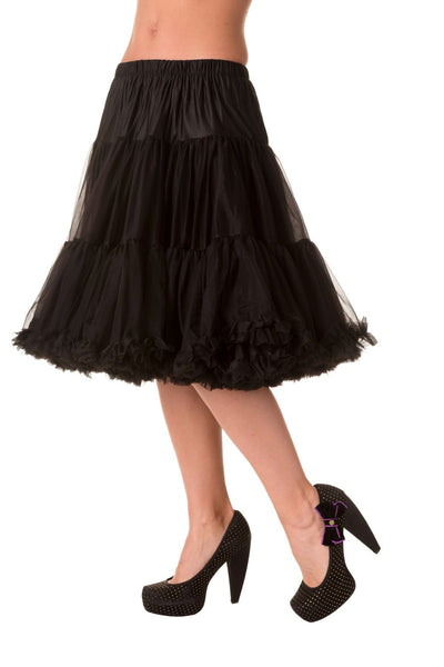 Banned Apparel starlite black petticoat NZ
